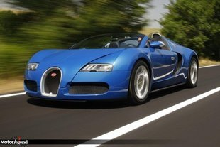 Bugatti Veyron Grand Sport, grand final