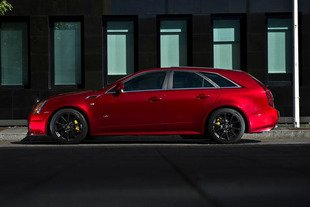 Une Cadillac CTS-V Wagon à 1200 ch