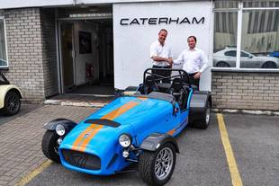 La Caterham Superlight R500 épuisée