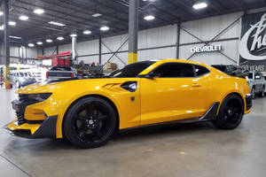 Barrett-Jackson : les Camaro Transformers vendues