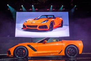 Corvette ZR1 : la version cabriolet dévoilée à Los Angeles