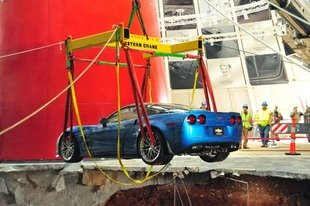 Actualit� Mus�e Corvette : premi�res extractions