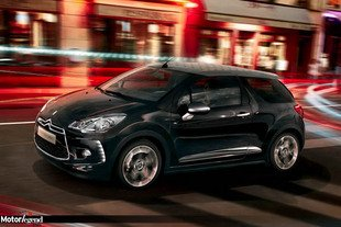 Officiel : Citroën DS3 Cabrio