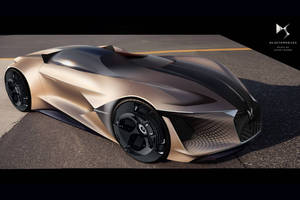 DS X E-Tense Concept : dream car