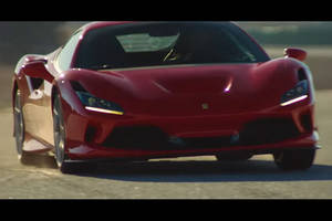 Ferrari F8 Tributo : action !