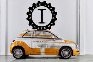 Star Wars : des Fiat 500 R2-D2 et BB-8 signées Garage Italia Customs