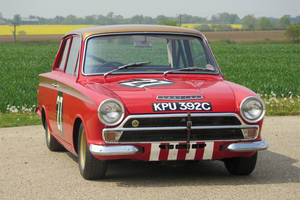 La Ford Lotus Cortina de Sir John Whitmore aux enchères