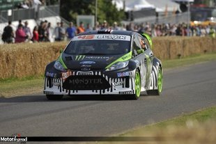 Ken Block honoré à Goodwood 2011