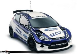 Ford Fiesta R2 Race Car