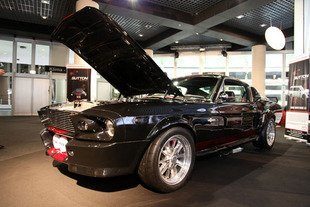 Top Marques Monaco 2014 : Shelby GT500 E par Clive Sutton