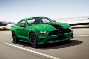 Nouvelle teinte Need for Green pour la Ford Mustang