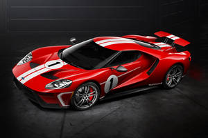 Nouvelle Ford GT 67 Heritage edition