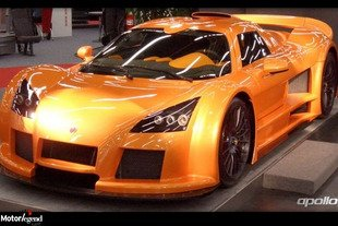 Gumpert redresse la barre