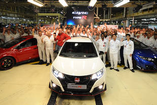 Honda Civic Type R : production lancée
