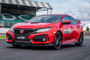 Record : Civic Type R à Silverstone