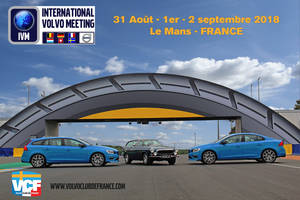 International Volvo Meeting au Mans