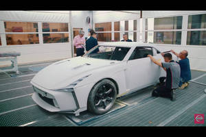 Making-of : Nissan GT-R50 par Italdesign
