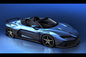 L'Italdesign Zerouno Roadster en images