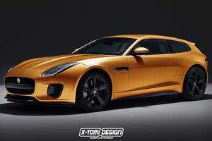 Jaguar F-Type Shooting Break par X-Tomi Design