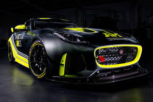 British GT : Jaguar F-Type SVR GT4