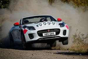 Jaguar F-Type Cabriolet Rally Car