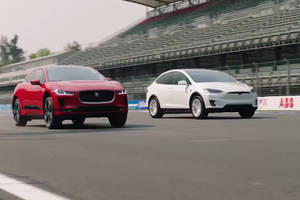 Challenge : Jaguar I-Pace vs Tesla Model X