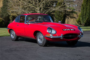 Silverstone Auctions : Jaguar Type E 3.8 Flat Floor coupé