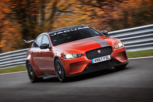 Jaguar XE SV Project 8 : encore plus rapide
