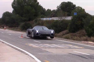 Koenigsegg : un crash-test en images