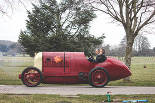 La Fiat S76 revient à Goodwood