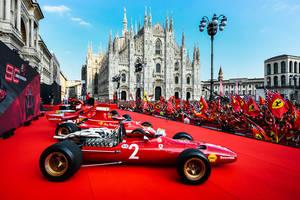 Parade Ferrari sur les Champs Elysées ce dimanche