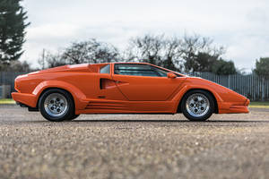 Silverstone Auctions : Lamborghini Countach 25th Anniversary 1990
