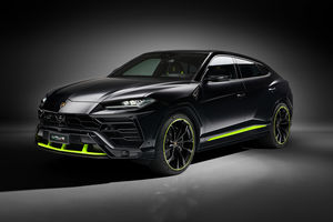 Lamborghini : collection capsule Urus Graphite