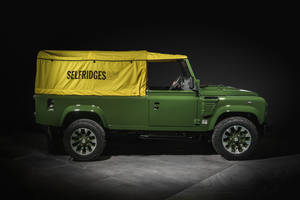 One-off Land Rover Defender Selfridges Edition