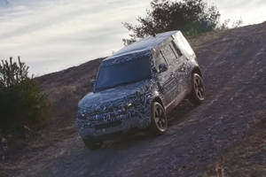 Le Land Rover Defender en action