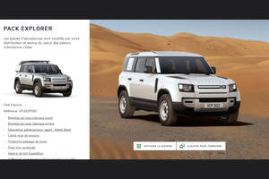 Configurateur: Land Rover Defender
