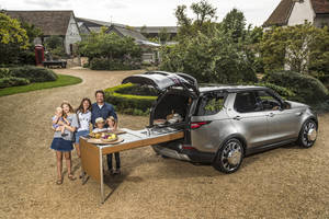 Insolite : le Land Rover Discovery du chef Jamie Oliver