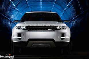 Land Rover LRX traction