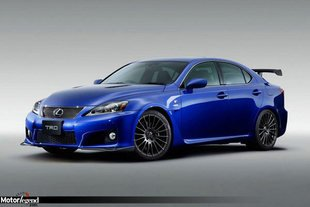 Lexus IS-F par TRD