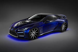 Black Panther Inspired Lexus LC