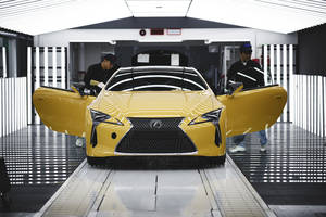 Lancement en production du Lexus LC Yellow Edition