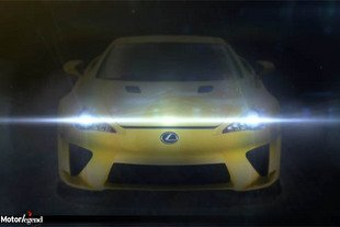 Lexus LFA : surprise en vue