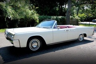 A vendre:Lincoln Continental ex-JFK