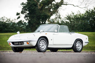 A vendre : Lotus Elan S2 ex-Peter Sellers