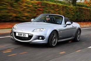 BBR colle un turbo au Mazda MX5