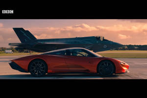 Top Gear : McLaren Speedtail vs F35 Jet