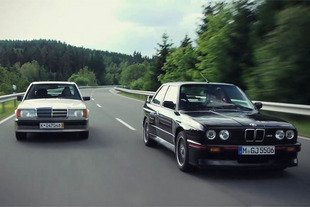 Mercedes 190E 2.3-16 vs BMW M3 E30