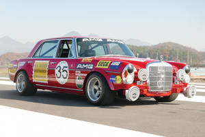 RM Sotheby's : Mercedes-Benz 300 SEL Red Pig Replica