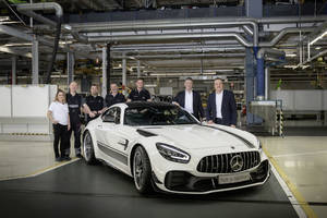 Mercedes-AMG GT : production lancée