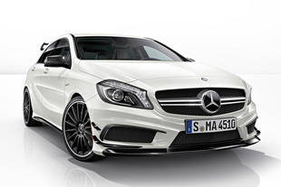 Vers une Mercedes A45 AMG Black Series ?